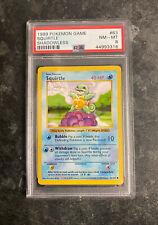 PSA 8 Shadowless Base Set Squirtle | 63/102 WOTC Pokemon Card