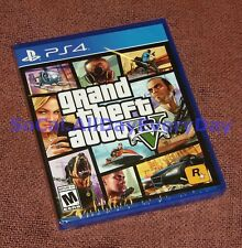 Grand Theft Auto V 5 Five (PS4) BRAND NEW & SEALED!! Free Shipping!! GTA5 online