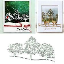 Trees DIY Metal Cutting Dies Stencil Scrapbooking Album Paper Card Crafts Decor