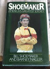 Willie Shoemaker Signed Book (Shoemaker) Sgc Authentic..