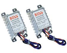 2) New Boss B15N 12 Amp 180W Car Radio/Amplifier Noise Suppressor Audio 12V B15