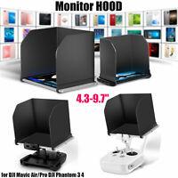 """4.3-9.7"""" i Pad Tablet Sun Shade Visor Hood for 3/ 4 DJI Mavic Air /Pro Phantom"""