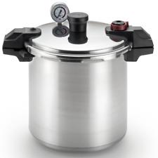 T-fal 20QT Silver Pressure Cooker - (7114000511)