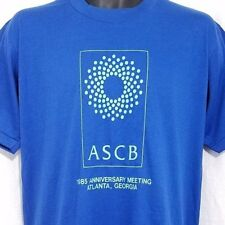 New listing American Society Cell Biology T Shirt Vintage 80s 1985 Ascb Made In Usa Large