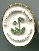 NEWFOUNDLAND PUBLIC HEALTH ASSOCIATION Vintage PIN PINBACK ÉPINGLETTE
