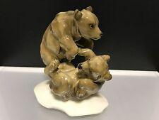 Hutschenreuther Figur K. Tutter. Spielende Bären 10,7 cm. 1 Wahl. Top Zustand