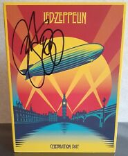 Led Zeppelin Celebration Day CD/DVD 3 Discs, Signed by Jason Bonham Becket COA
