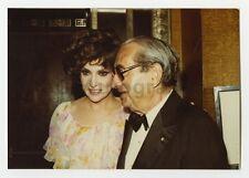 Gina Lollobrigida & Joseph E. Levine - Vintage Candid by Peter Warrack