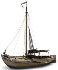 HO Roco Artitec Resin Ship Kit Unassembled Unpainted #50.105 Fishing Boat