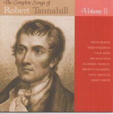 SONGS OF ROBERT TANNAHILL 2 GLOOMY WINTER bonnie scots scottish folk music poet