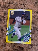 Mallex Smith 2021 Topps Yellow Walgreens SP Parallel # 247 Seattle Mariners