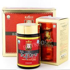 110g(3.9oz),100% Korean Red Ginseng 6 Years Roots Powder, No Additives, Saponin
