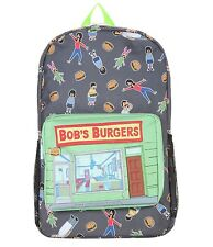 NEW Bob's Burgers Bag Backpack Bob, Linda, Tina, Gene, Louise Belcher Family