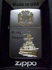 Zippo Sturmfeuerzeug Schlachtschiff Prinz Eugen High End Gravur