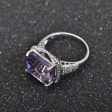 Beautiful, old Ring, 925er Silver with Ametrine / lilac coloured Stone