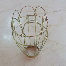 Industrial Retro Iron Wire Guards Bulb Clamp Metal Lamp Cage Trouble Light