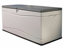 Storage Box Outside Patio Deck Lockable Outdoor Large 130 Gal Dock Pool Bench