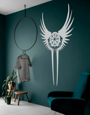 Valkyrie Symbol/ Compass decal car/ wall/ window/ laptop Viking Nordic stickers