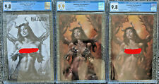 Hellwitch The Forsaken #1 CGC 9.8 Parrillo Risque Legend Set /60 With 9.9