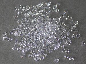 Weiß Klar Rund Brilliant Lose Cubic Zirkonia Kristall Perlen Cz