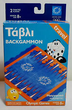 olympic games magnetic backgammon