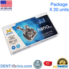 Case Of Brackets Roth Nano 022 Morelli 1015906 Orthodontic Product Usa Seller