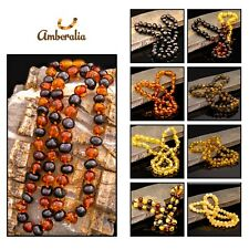 Amberalia Baltic Amber POLISH Necklace- Certificated - All Sizes for all ages-