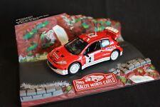 Norev Diorama Peugeot 206 WRC 2003 1:43 #2 Burns / Reid Rallye Monte-Carlo