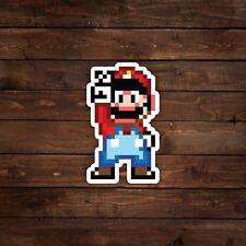 8-Bit Super Mario Decal/Sticker