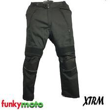 Pantalons imperméable noir pour motocyclette Homme