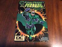 Final Night : Parallax Emerald Night #1 DC Logo Variant Green Lantern