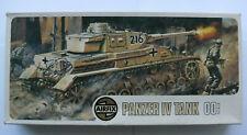 Airfix Model Tank Kit Panzer IV Cat A208V No 02308-7 1/72