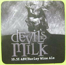 DEVIL'S MILK ALE Beer COASTER, Mat, DuClaw, MARYLAND, 2010 issue