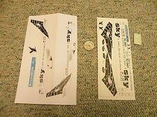 Nazca decals 1/144 Sky Airways Black Eagle N72