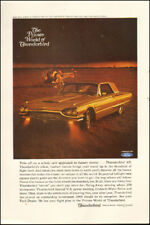 Vintage ad for 1965 Ford Thunderbird`photo retro car Gold (050618)