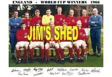 England Autographed Football Prints & Pictures
