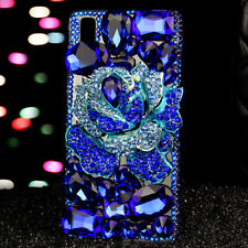 NEW Bling handmade Crystals Diamonds soft TPU back Covers Cases for Nokia Phones