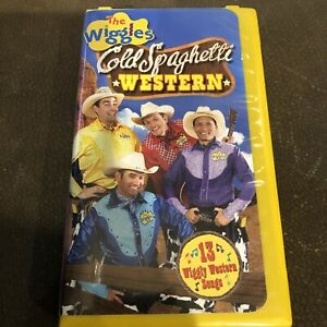 The Wiggles - Cold Spaghetti Western (VHS, 2004)