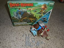 Tyco Dino Riders Styracosaurus w Turret figure, complete with box!