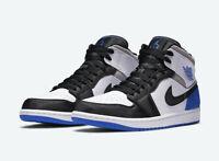 """Nike Air Jordan 1 Mid SE """"Game Royal"""" 852542-102 Size 8.5-14"""