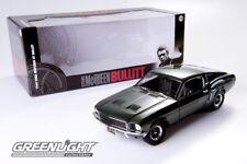 1/18 1968 FORD MUSTANG GT BULLITT ,GREENLIGHT.