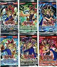 YuGiOh Lot 6 Boosters Legend of Blue-Eyes, LOB, MRD, IOC, PSV, DCR, SRL Boosters