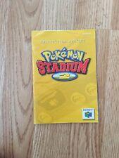 Pokemon Stadium 2  Instruction Manual Only N64 Nintendo 64