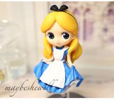 "Disney Princess Alice Action Figure Model Q Version Kids Toy Doll 6"" Cute Decor"