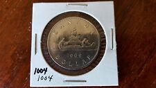 1969 Canada Voyageur dollar - Free Canada Shipping - #1004