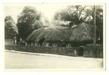 Adare - a photographic postcard of Thatched Cottages