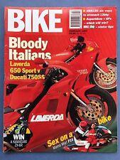BIKE - Feb - 1995 - Harley Davidson FXD Super Glide - Husqvarna WRE125 Dual