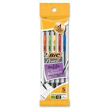 BIC Pencil Xtra Life, Medium Point (0.7 mm), 5-Count