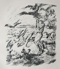 Francesco d'Assisi Emil pottner 1915 Francesco D'' Assisi la predica provveditorati uccelli