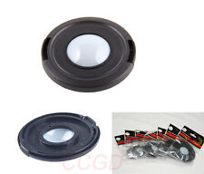 62mm Front White Balance Lens Cap Cover Center Pinch for Canon Nikon Sony camera
